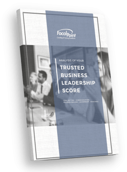 Trusted Business Leadership Score Report